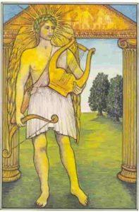 Carta de Tarô o Sol