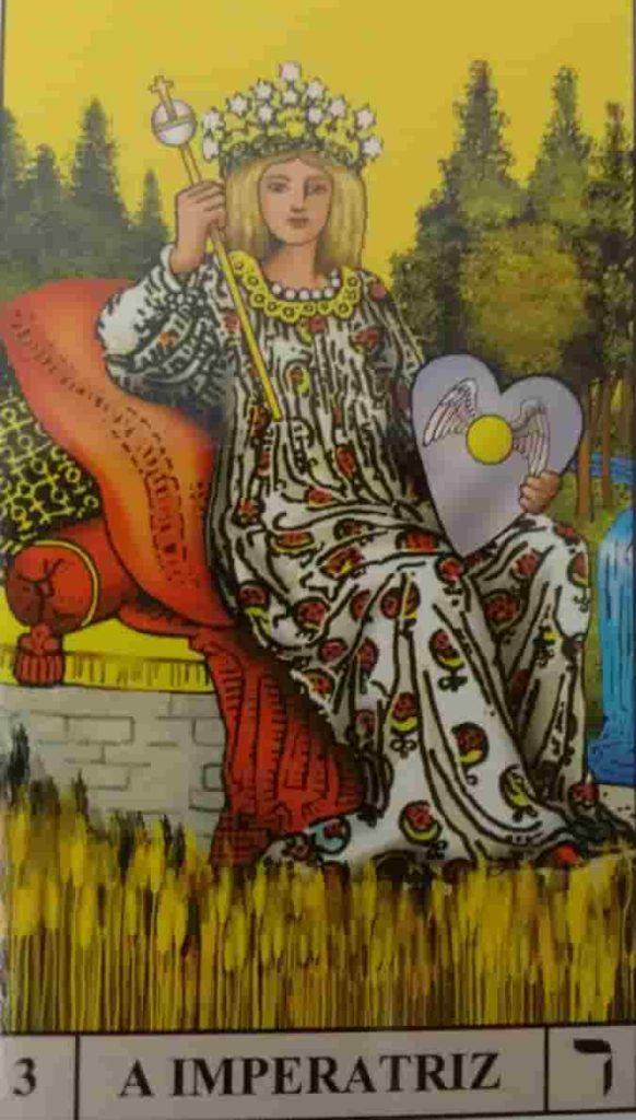 Carta de Tarô A Imperatriz