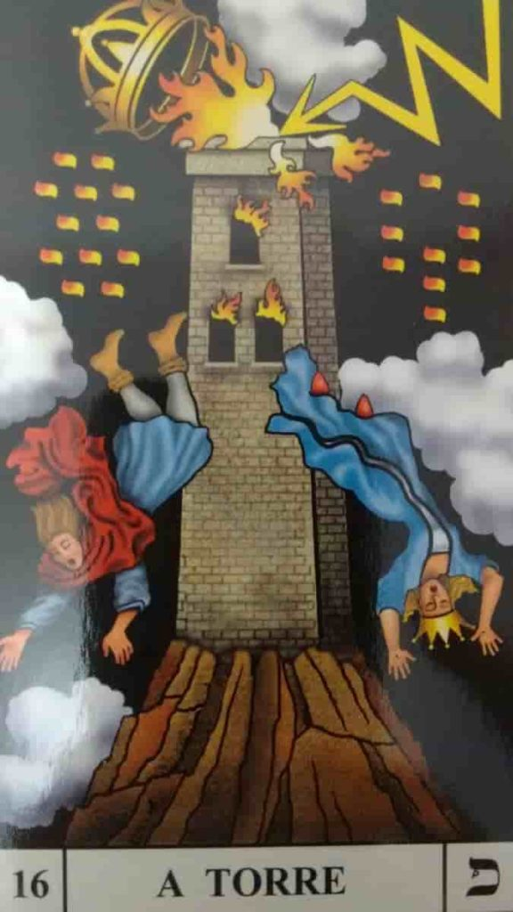 Carta de Tarô A Torre