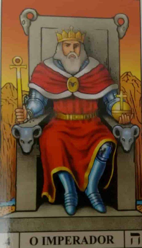 Carta de Tarô O Imperador