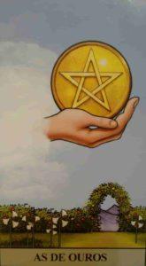 Significado e conselho da Carta de Tarô As de Ouros