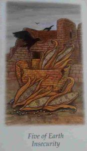 Significado e conselho da Carta de Tarô Cinco de Ouros