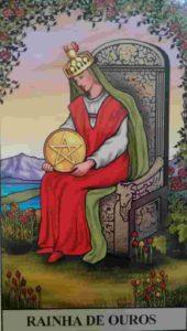 Significado e conselho da Carta de Tarô Rainha de Ouros