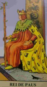 Significado e Conselho Carta de Tarô Rei de Paus