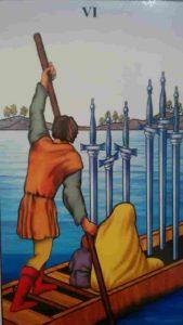 Conselho e Significado Carta de Tarot Seis de Espadas