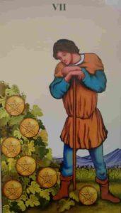 Significado e conselho da Carta de Tarô Sete de Ouros