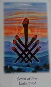Significado e Conselho Tarot Sete de Paus