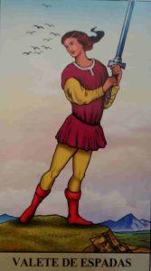 Conselho e Significado Carta de Tarot Valete de Espadas