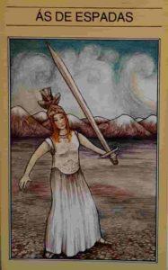 Conselho e Significado Carta de Tarot Ás de Espadas