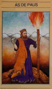 Significado e Conselho Carta de Tarô As de Paus