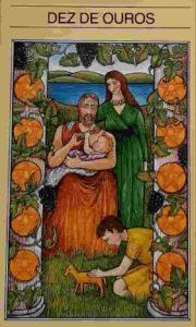 Significado e conselho da Carta de Tarô Dez de Ouros