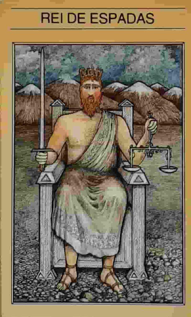 Conselho e Significado Carta de Tarot Rei de Espadas